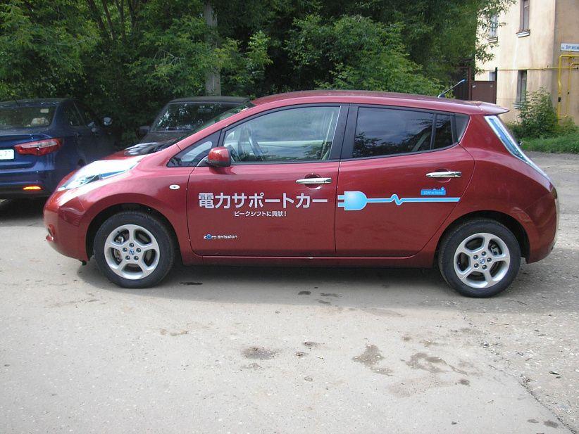 Покупка электрокара на японском аукционе